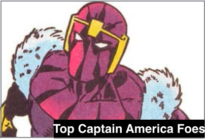 Top Captain America Villains