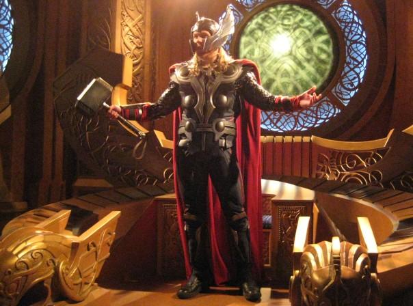 Thor at Disneyland