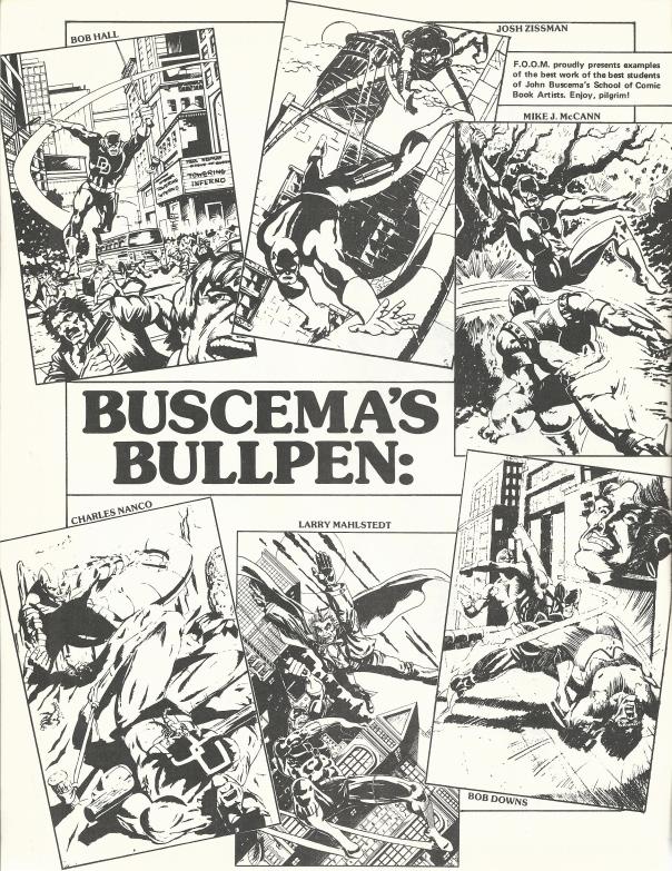 Buscema's Bullpen