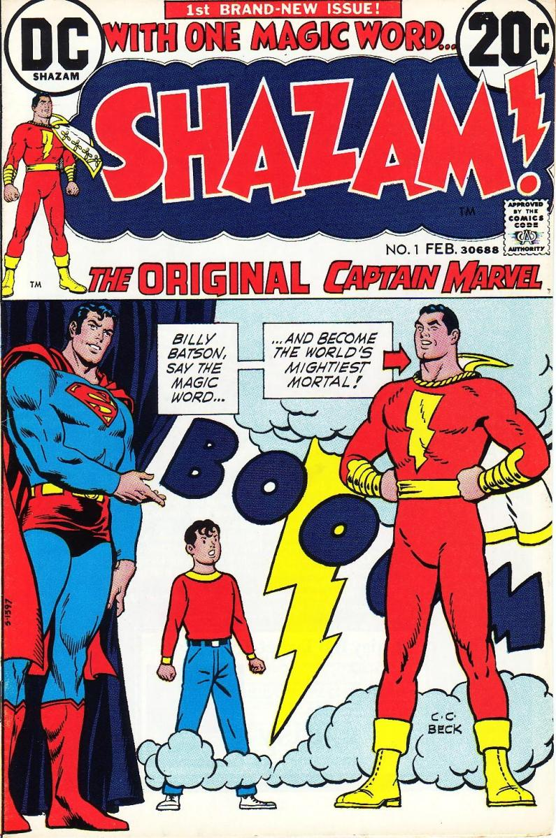 SHAZAM! -- The Power of One Magic Word
