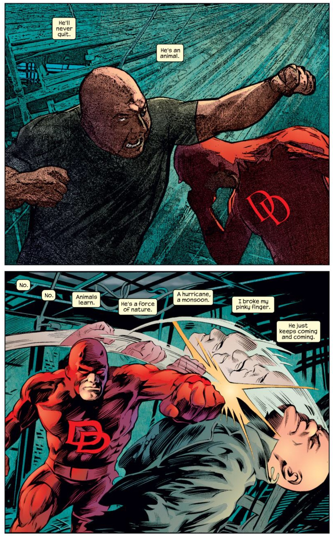 Daredevil Vs Kingpin Who's the Boss? King...