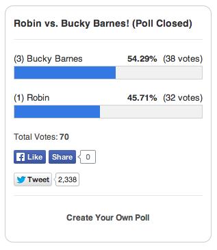 Bucky Wins!