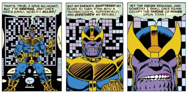 Thanos, by Jim Starlin