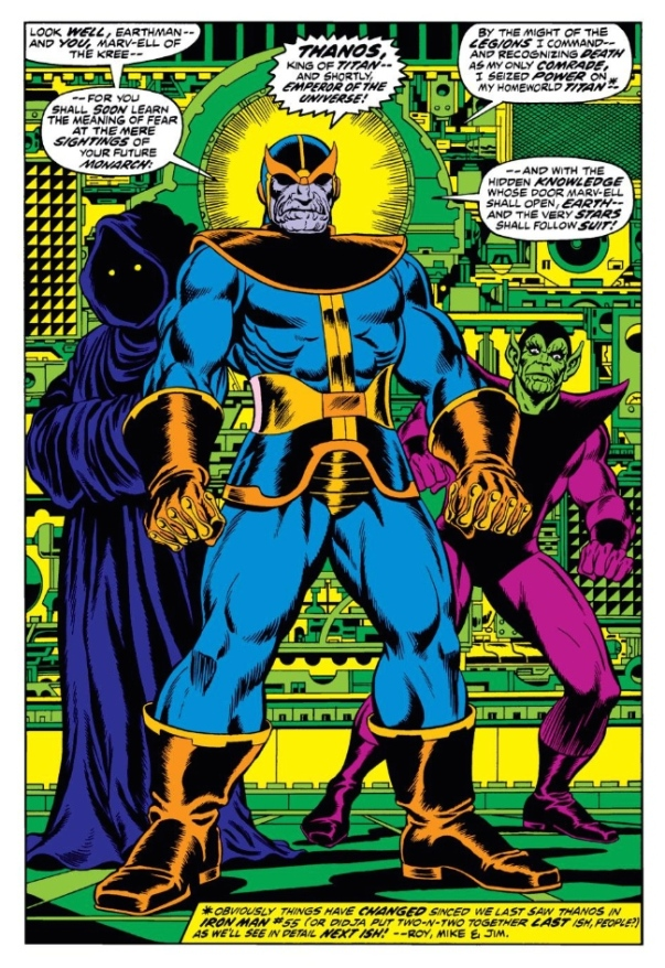 Thanos by Jim Starlin