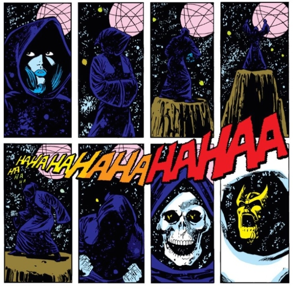 Death and Thanos, by Jim Starlin
