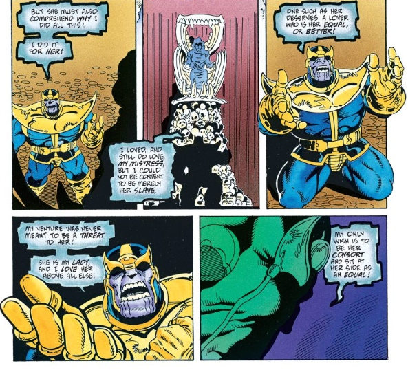 Thanos, by Jim Starlin and Ron Lim
