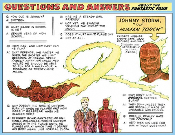 Human Torch!