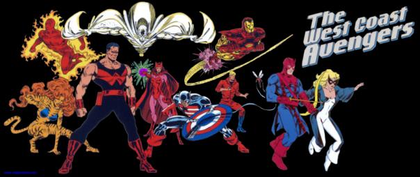 West Coast Avengers!