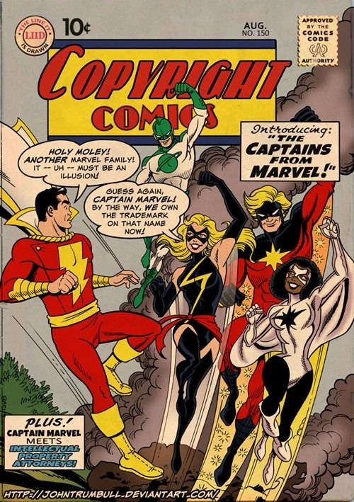 Copyright Comics!