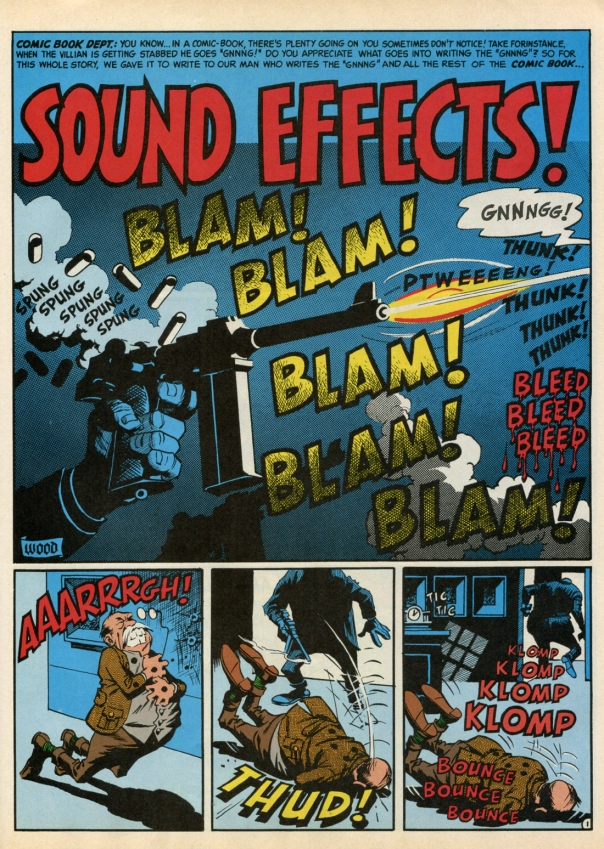 Sound Effects by Wally Wood!