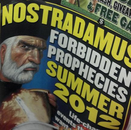 No-No Nostradamus!
