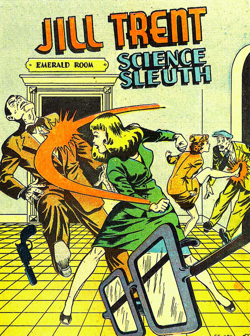 Jill Trent, Science Sleuth!