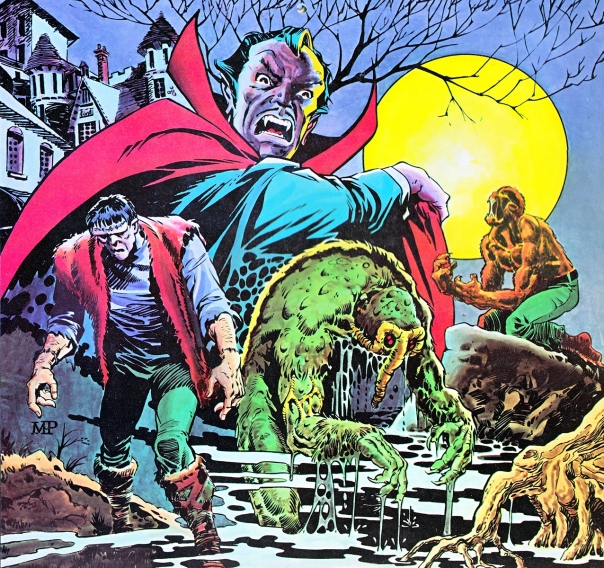 Marvel Monsters by Mike Ploog