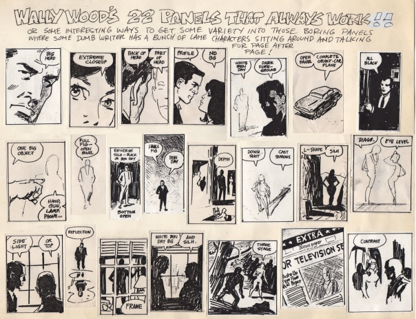 22 Panels That Always Work, by Wally Wood