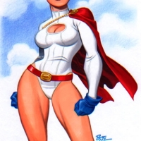 Power Girl Gallery