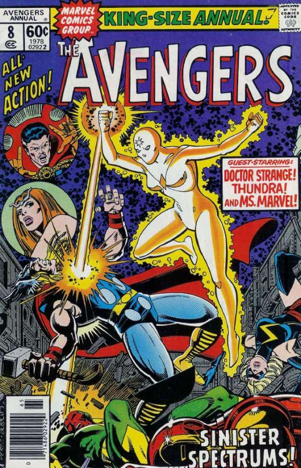 Avengers Annual #8