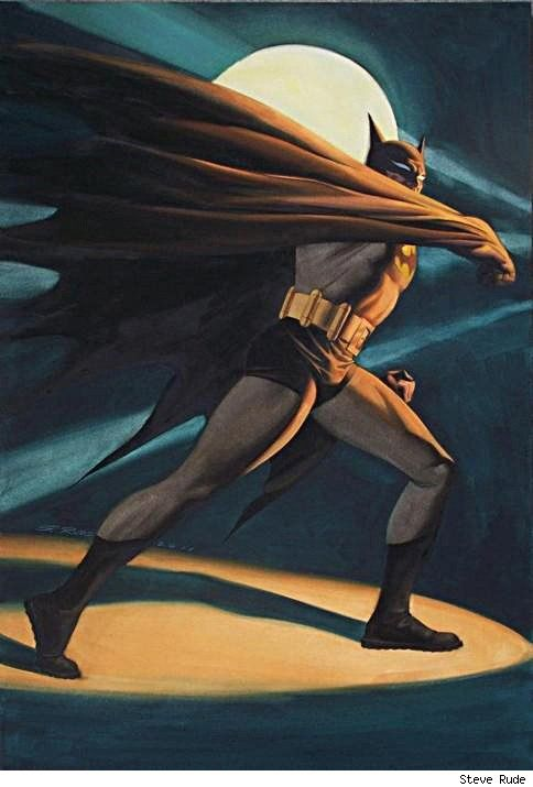 Batman by Steve Rude