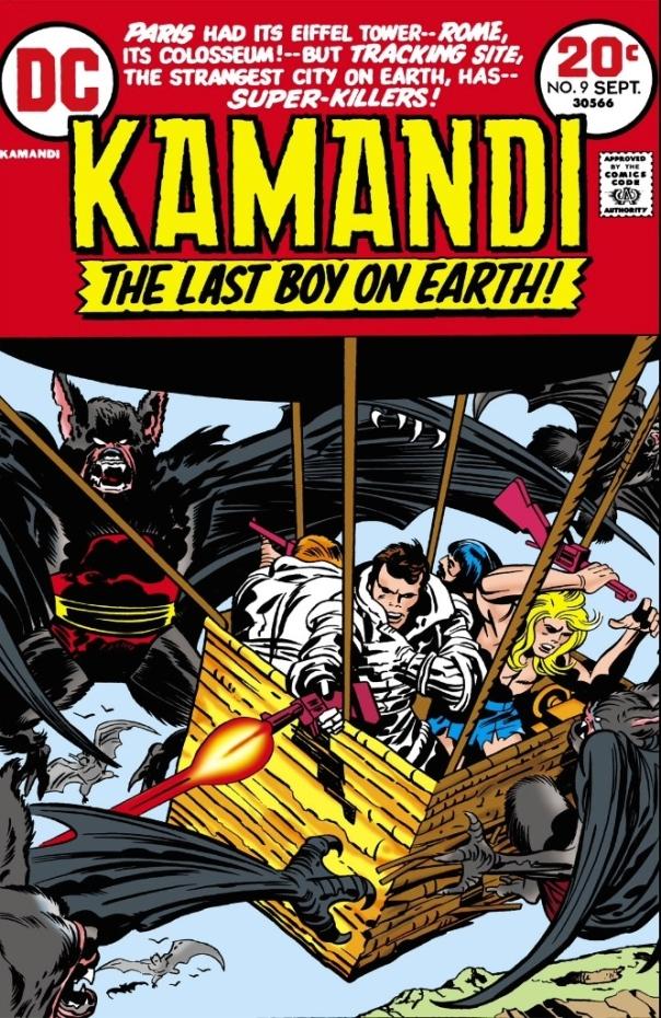 Kamandi #9, Jack Kirby