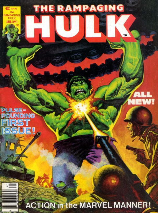 The Rampaging Hulk Magazine #1 - Page 1