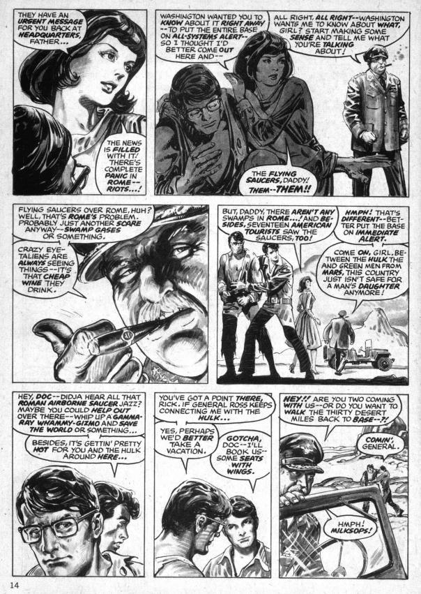 The Rampaging Hulk Magazine #1 - Page 14