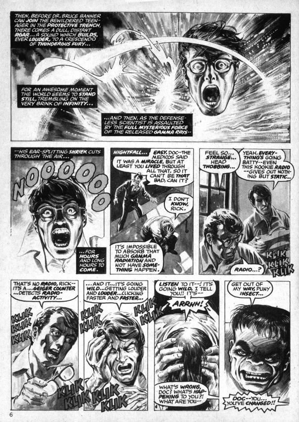 The Rampaging Hulk Magazine #1 - Page 6