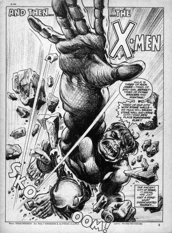 The Rampaging Hulk Magazine #2 - Page 2