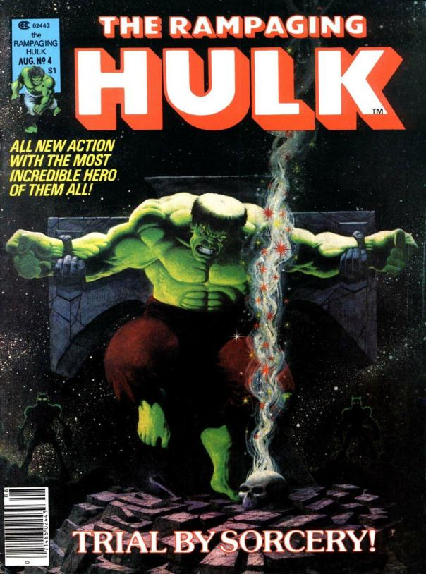 The Rampaging Hulk Magazine #4 - Page 1