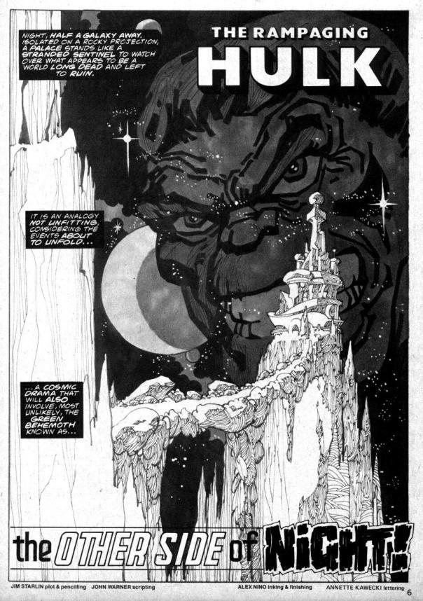 The Rampaging Hulk Magazine #4 - Page 3