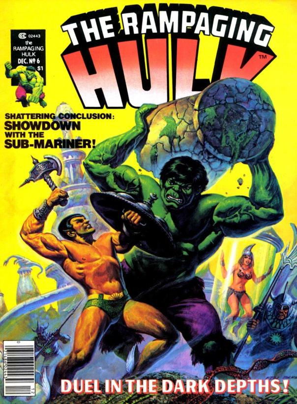 The Rampaging Hulk Magazine #6 - Page 1