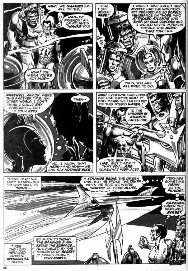 The Rampaging Hulk Magazine #6 - Page 40