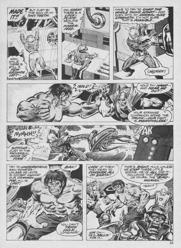 The Rampaging Hulk Magazine #9 - Page 31