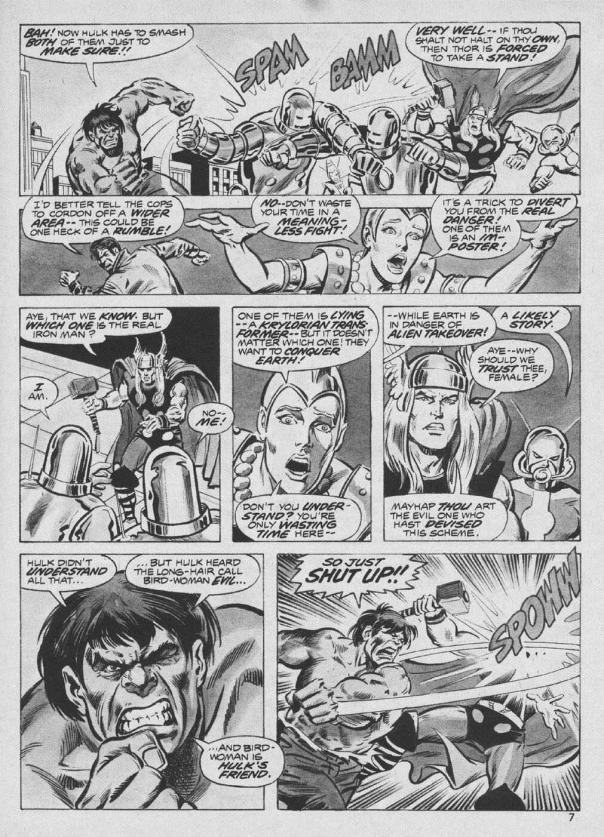 The Rampaging Hulk Magazine #9 - Page 7