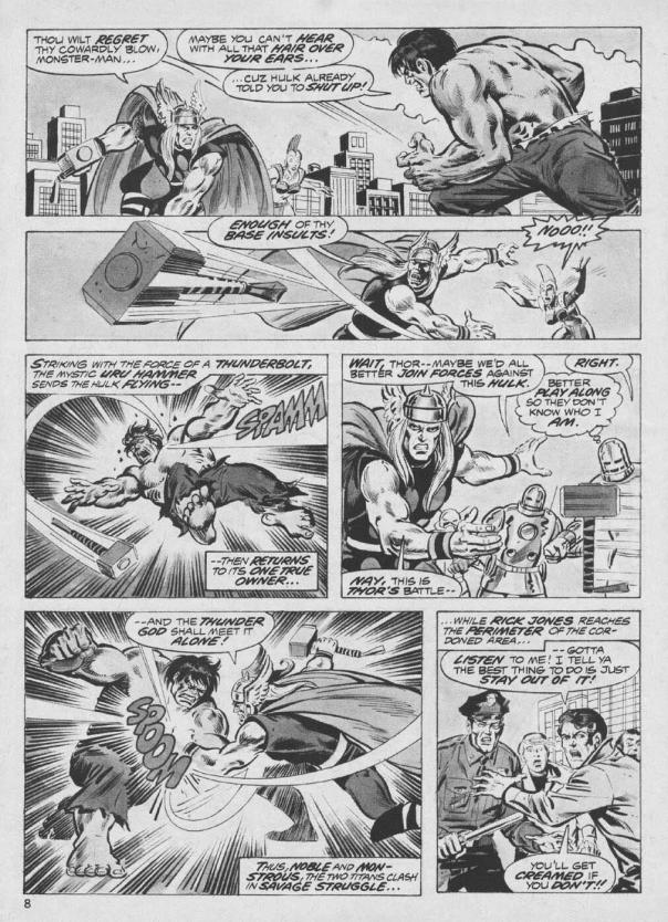 The Rampaging Hulk Magazine #9 - Page 8