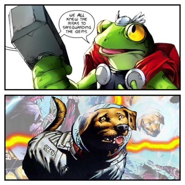 Throg vs. Cosmo
