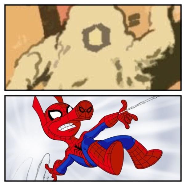Proty vs. Spider-Ham