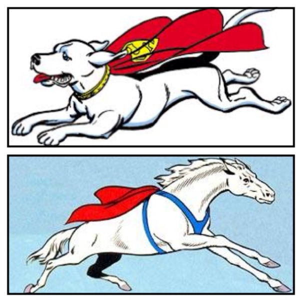 Krypto vs. Comet!