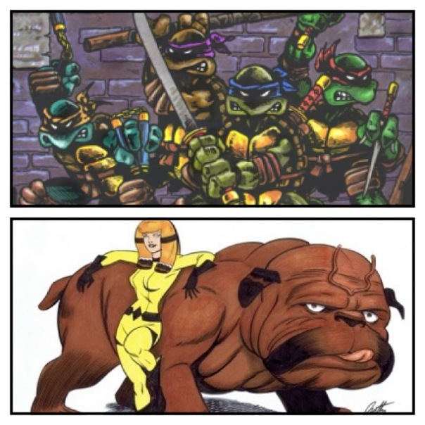 Teenage Mutant Ninja Turtles vs. Lockjaw!