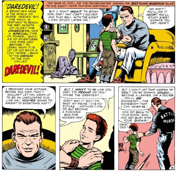 Daredevil #1, Bill Everett & Stan Lee