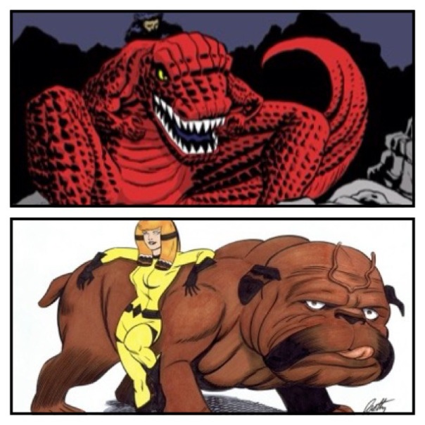 Devil Dinosaur vs. Lockjaw