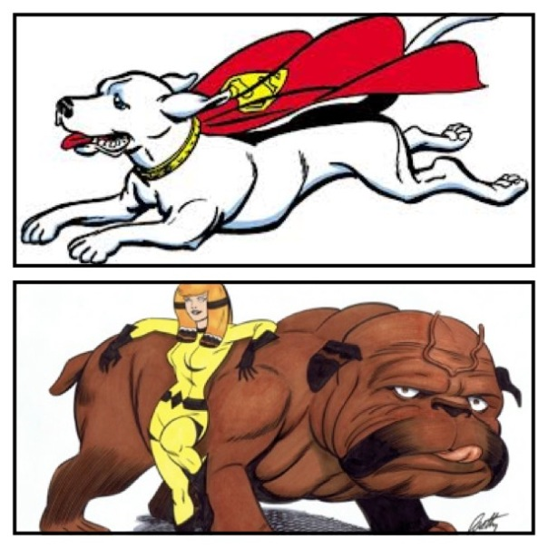 Krypto vs. Lockjaw!