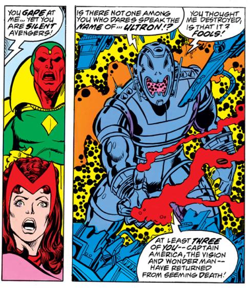Avengers #161, Ultron