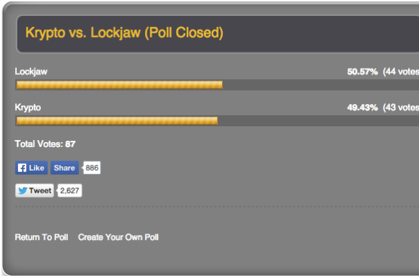 Lockjaw Wins!