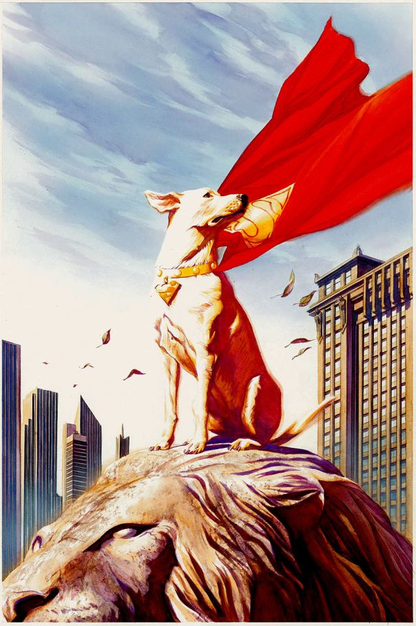 Krypto by Alex Ross