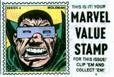 Mole Man Value Stamp