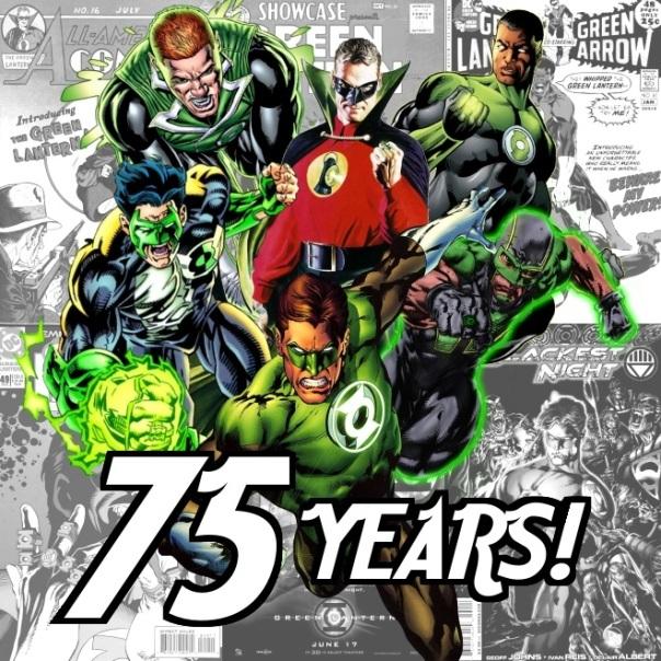 75 Years of Green Lantern!