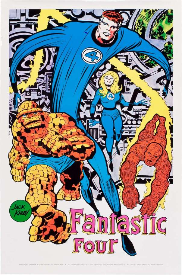 The Fantastic Four By Jack Kirby!