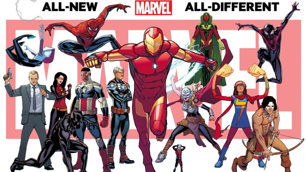 All-New All-Different Marvel Now!