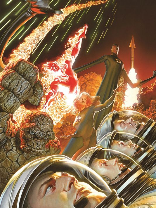 Fantastic Four by Alex Ross