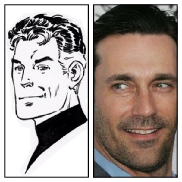 Jon Hamm is Reed Richards
