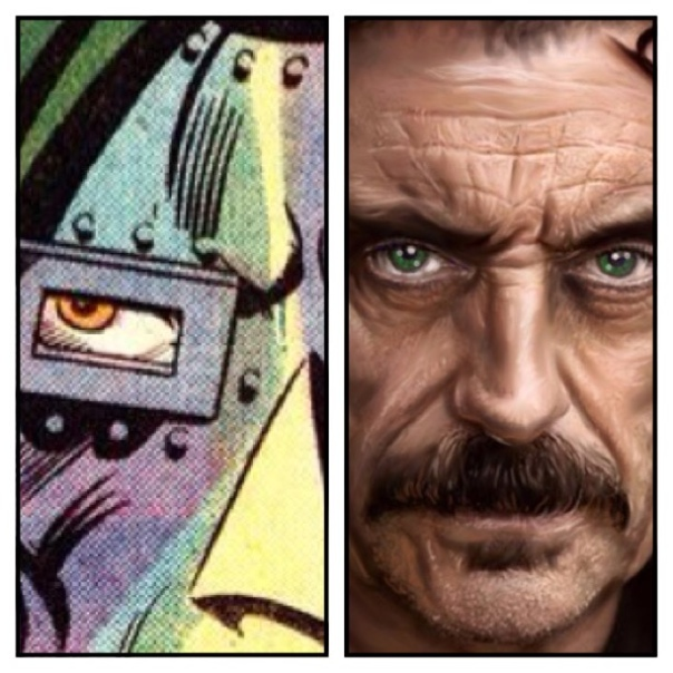 Ian McShane is Doctor Doom